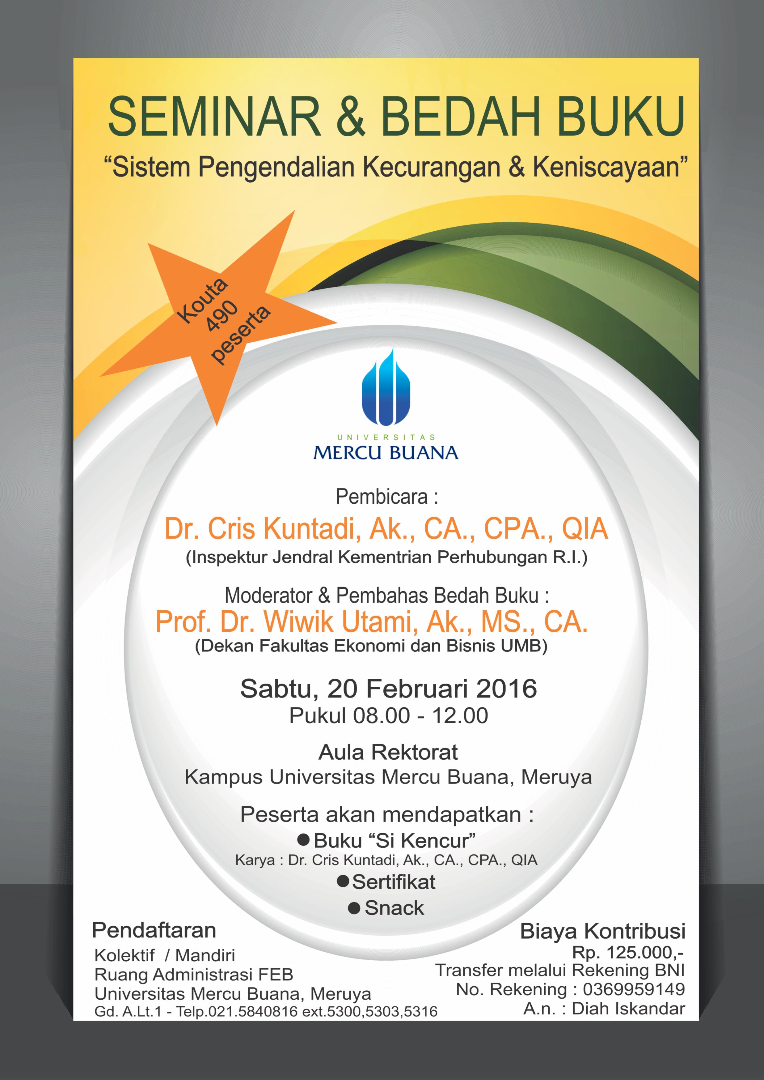 Poster SPKK S1 Akuntansi - 20 Februari 2016